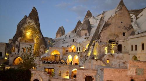 Музей под открытым небом в Гёреме в Каппадокии