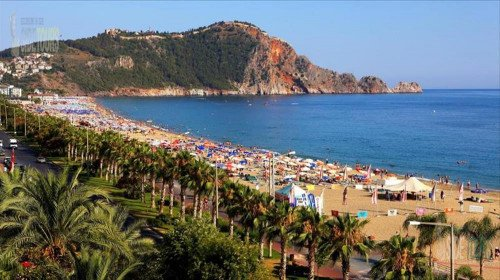 Alanya one of the most beautiful tourist centers of Turkey