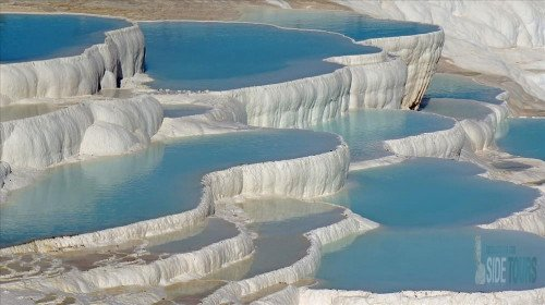 The main thermal springs in Turkey