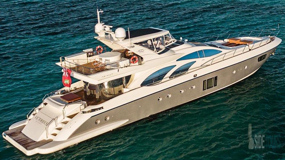 Antalya tekne kiralama fiyatları