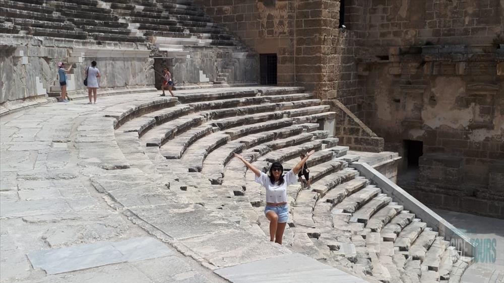 Aspendos Amphitheater magnificant history
