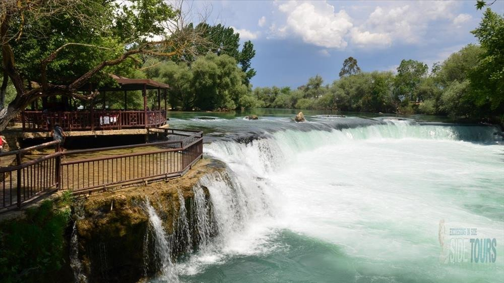 Manavgat waterfall as to get
