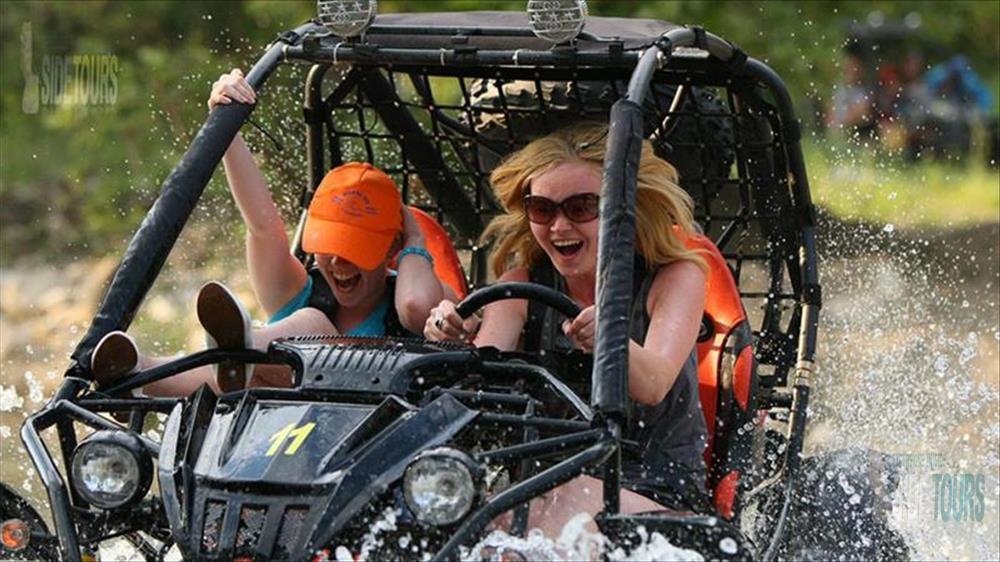 Side buggy safari ile eğlenceli ve heyecan dolu anlara hazır olun!