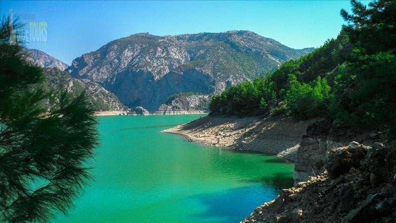 Зеленый каньон из Сиде