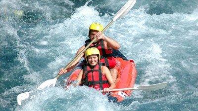 Rafting w Side