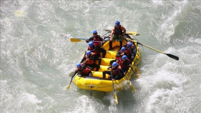 Rafting in Side Turkey