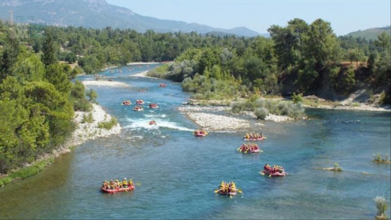 Rafting Tracking Zipline in Side (3 in 1)