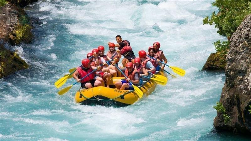 Side'de Rafting Yürüyüş Zipline