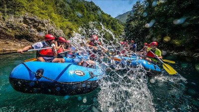 Jeep-Safari und Rafting