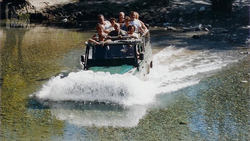 Side Jeep Safari ve Rafting Turu