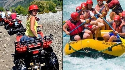 Quad bike and rafting in Side