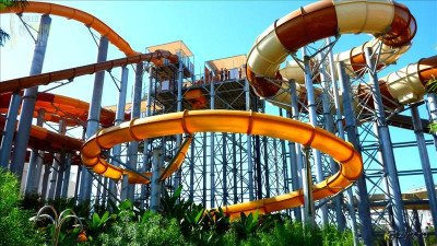 Aquapark The Land of Legends z Side