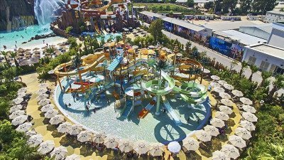 Water Park in Side Turkey