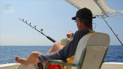 Sea fishing trip Side Turkey
