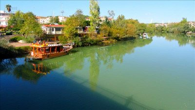 Manavgat river cruise and Waterfall